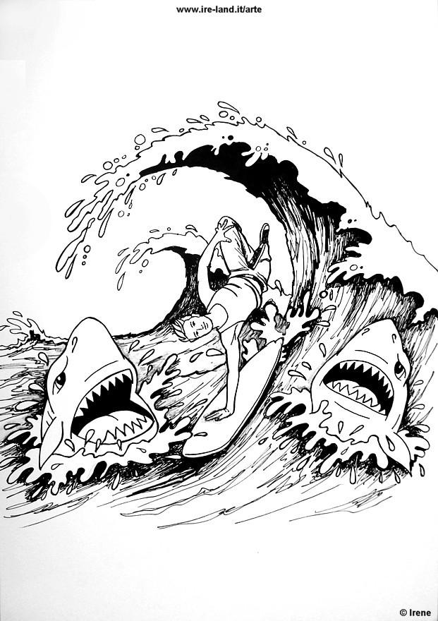 Disegni di squali risultati immagini per squalo maori